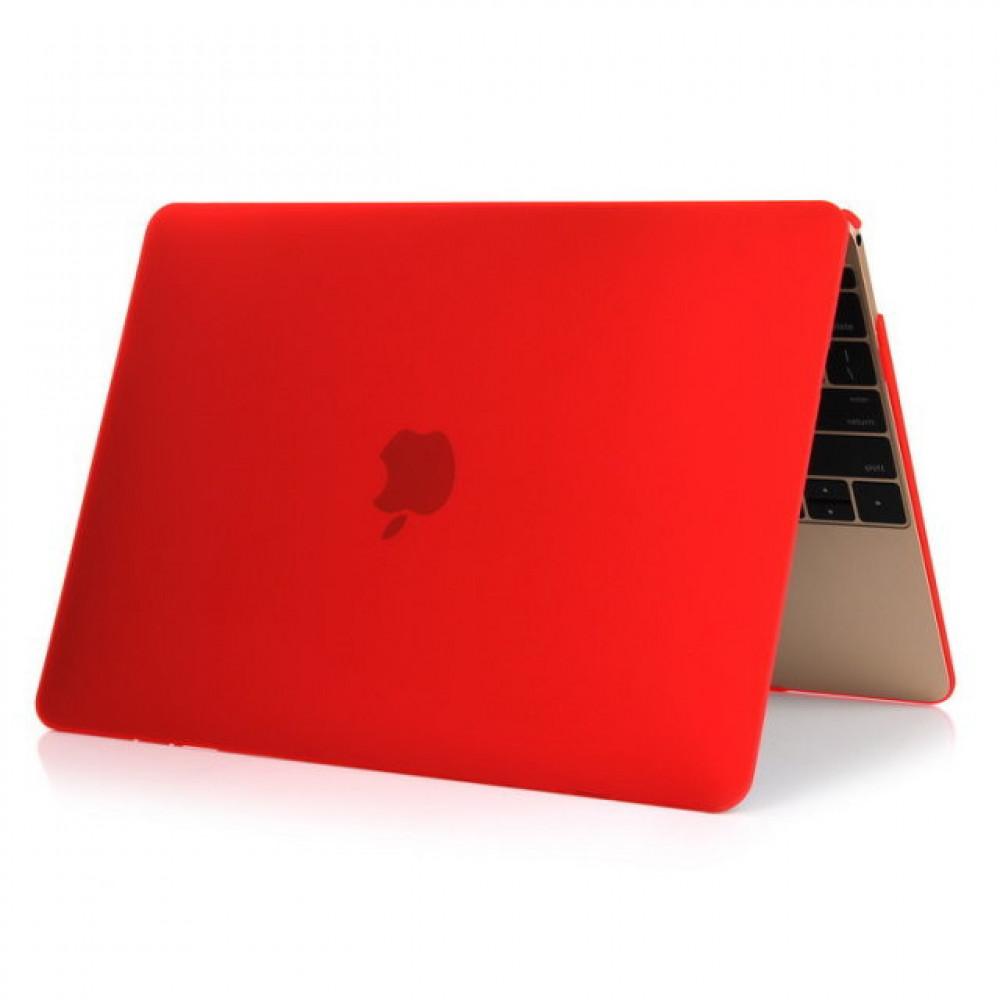 """Чехол-накладка на MacBook Pro 12"""" Retina DDC пластик (Matte Red)"""