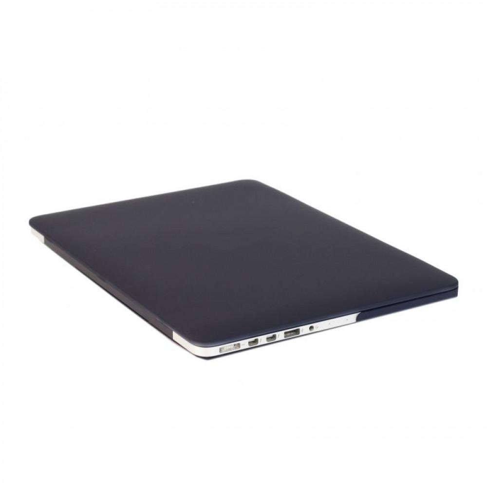 """Чехол-накладка на MacBook Pro 13,3"""" DDC пластик (Matte Black)"""