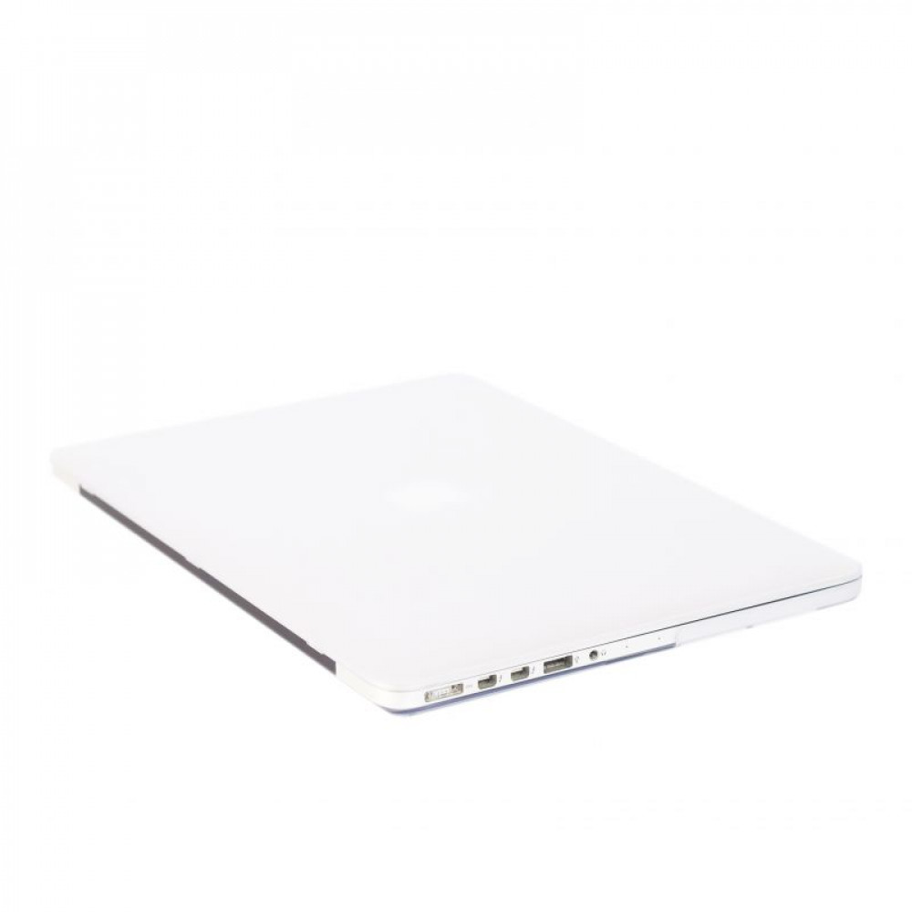"Чехол-накладка на MacBook Pro 13,3"" DDC пластик (Matte White)"