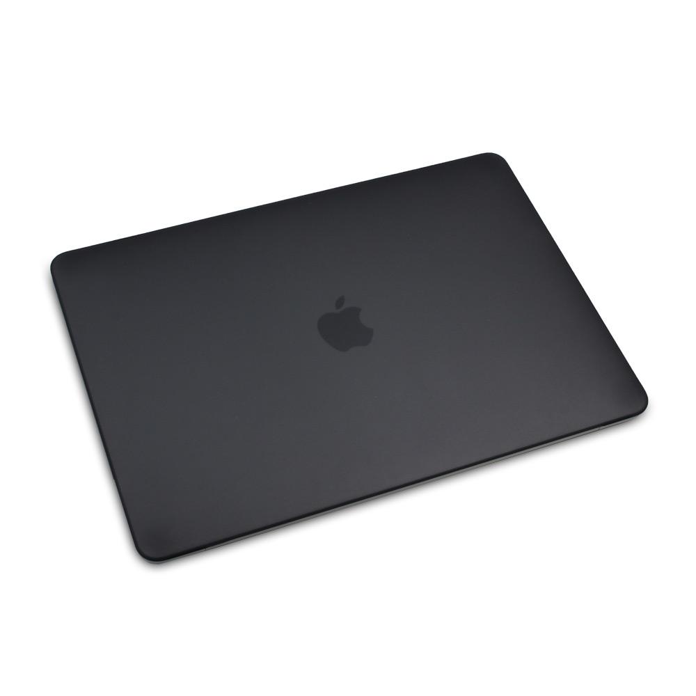 """Чехол-накладка на MacBook Pro 13,3"""" Retina New DDC пластик (Matte Black)"""