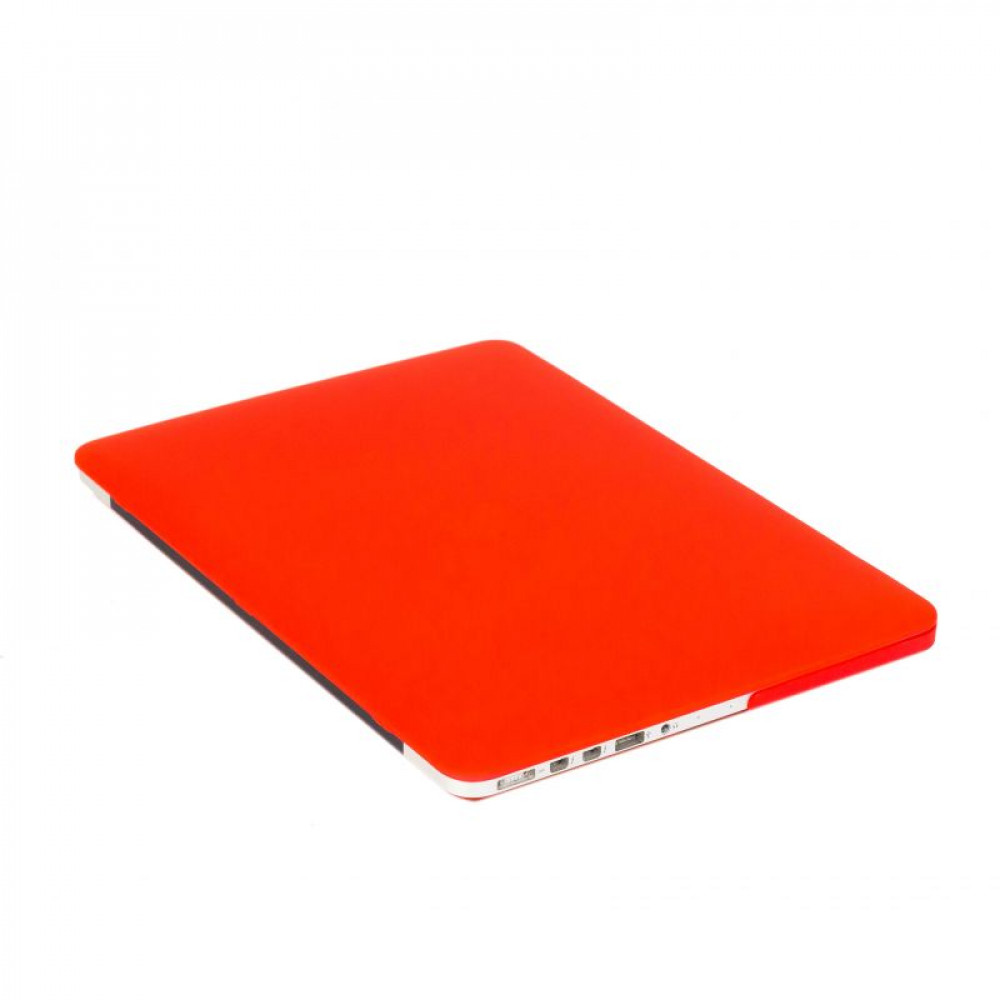 """Чехол-накладка на MacBook Pro 13,3"""" Retina New DDC пластик (Matte Red)"""
