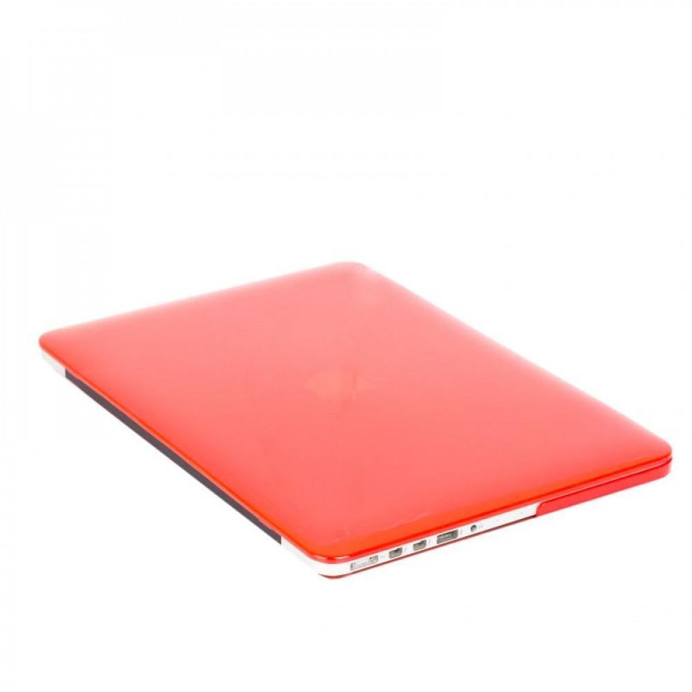 """Чехол-накладка на MacBook Pro 15"""" Retina DDC пластик (Matte Red)"""