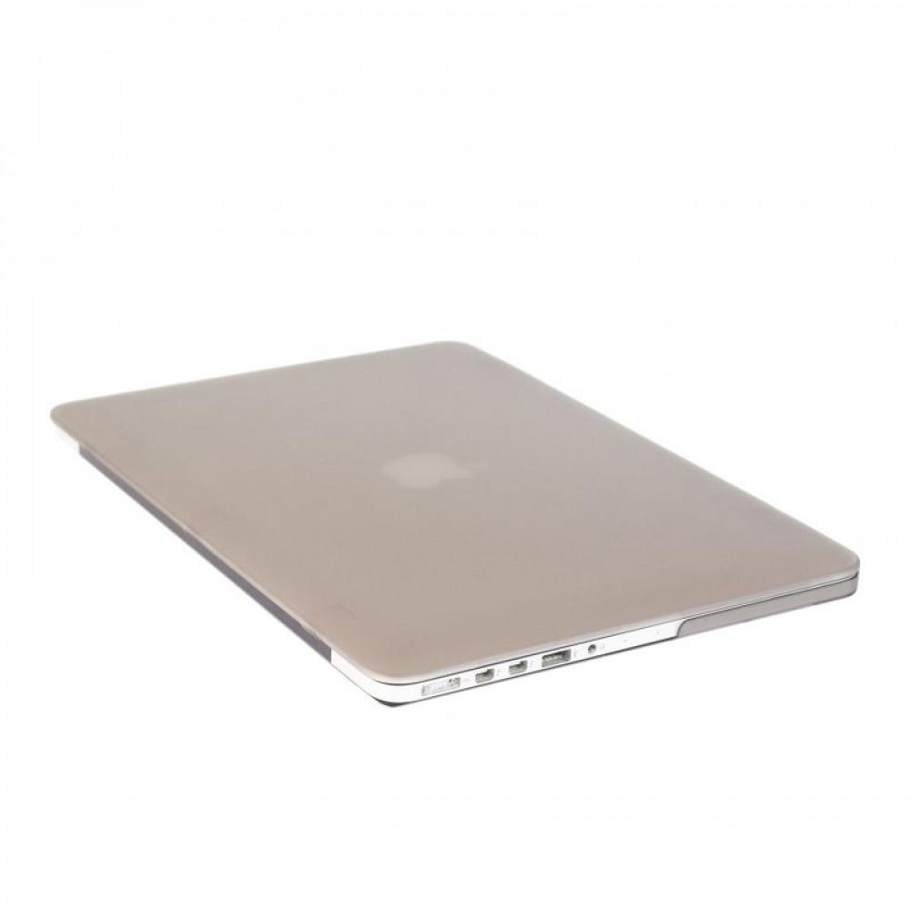 "Чехол-накладка на MacBook Pro 15"" Retina DDC пластик (Matte Gray)"