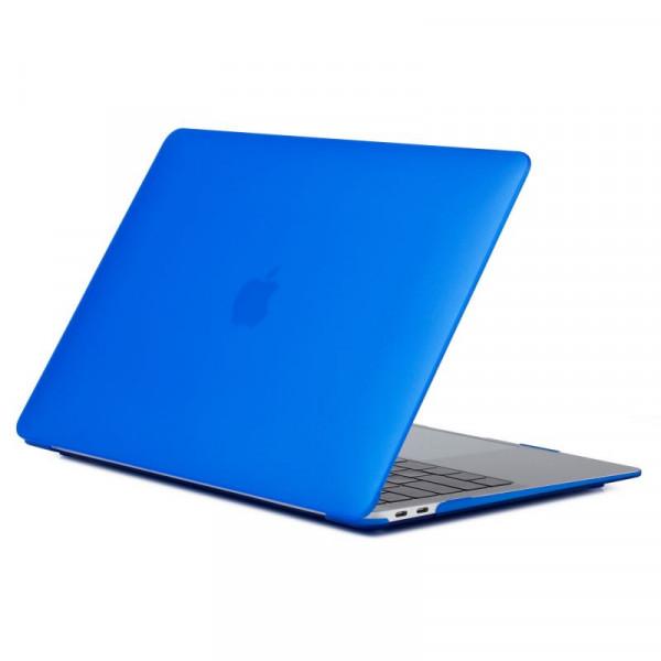 """Чехол-накладка на MacBook Pro 15"""" Retina New DDC пластик (Matte Blue)"""