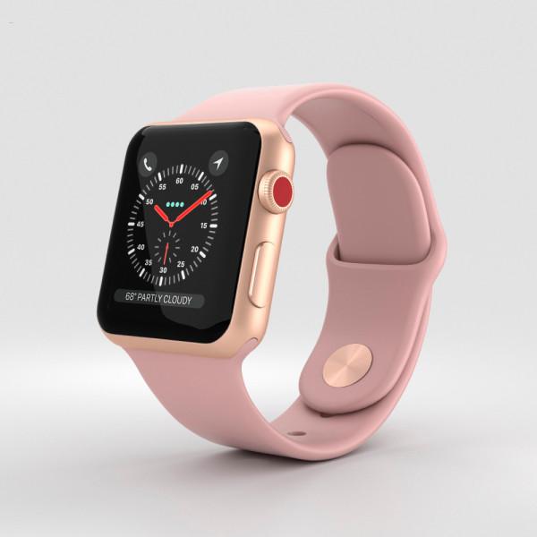 Apple Watch 3 38mm Gold Б/У