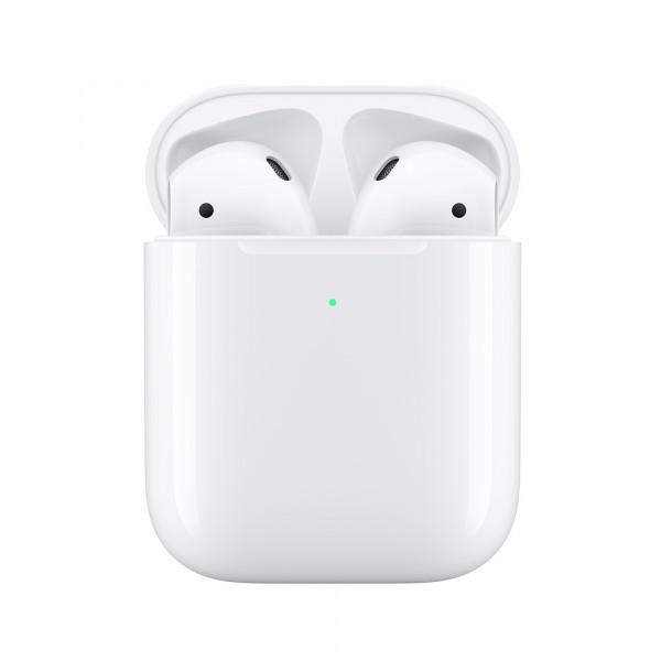 Apple AirPods 2 (2019 2го поколения) в футляре для беспроводной зарядкой (Wireless Charging Case) (MRXJ2)