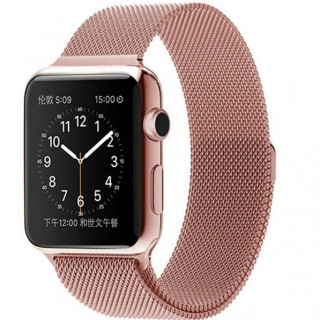 Ремешок Milanese Loop 38mm/40mm Rose Gold для Apple Watch Series 1/2/3/4