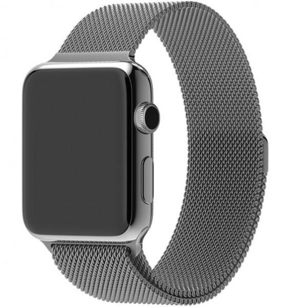 Ремешок Milanese Loop 38mm/40mm Silver для Apple Watch Series 1/2/3/4