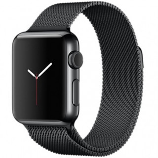 Ремешок Milanese Loop 42mm/44mm Black для Apple Watch Series 1/2/3/4