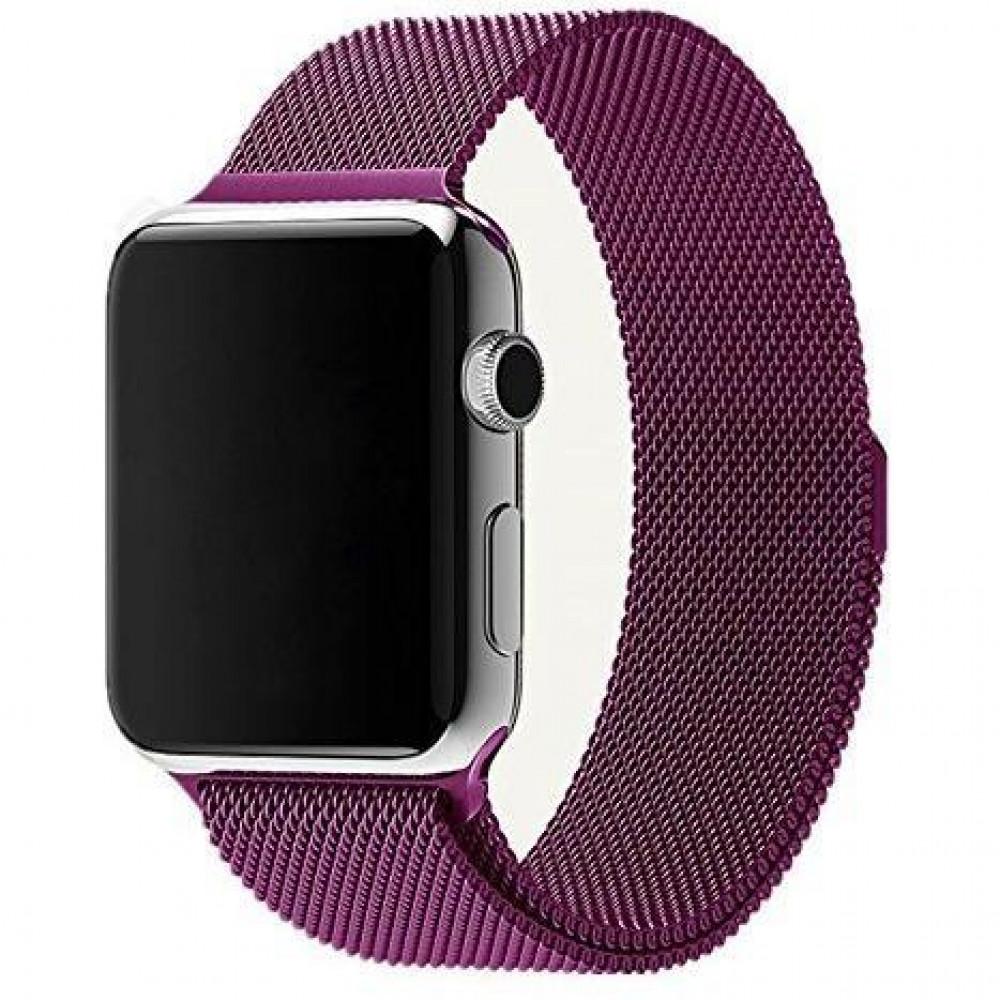 Ремешок Milanese Loop 42mm/44mm для Apple Watch (Purple)