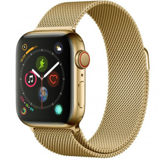 Ремешок Milanese Loop 38mm/40mm Light Gold для Apple Watch Series 1/2/3/4
