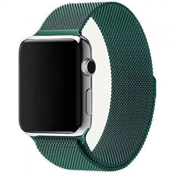 Ремешок Milanese Loop 38mm/40mm для Apple Watch (Green)