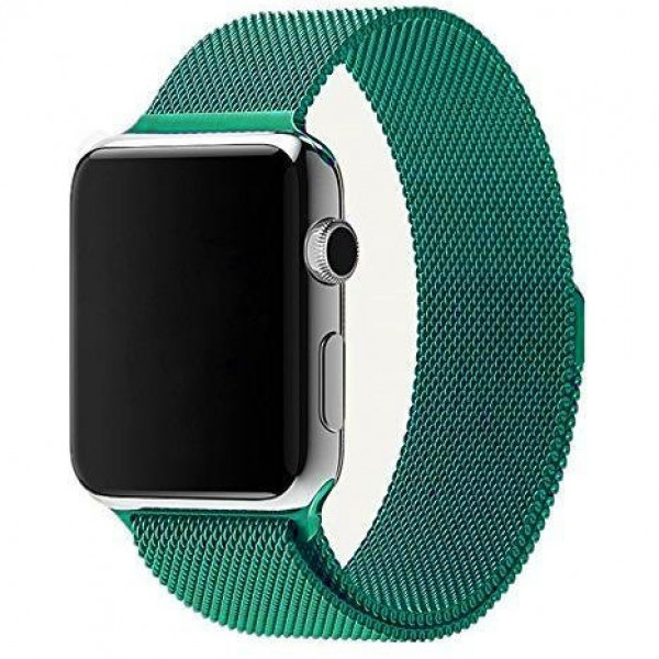 Ремешок Milanese Loop 38mm/40mm Light Green для Apple Watch Series 1/2/3/4