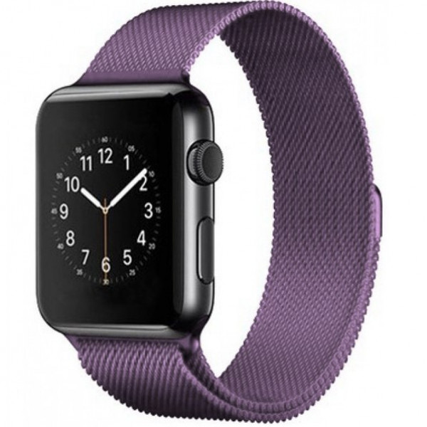 Ремешок Milanese Loop 38mm/40mm Lilac для Apple Watch Series 1/2/3/4