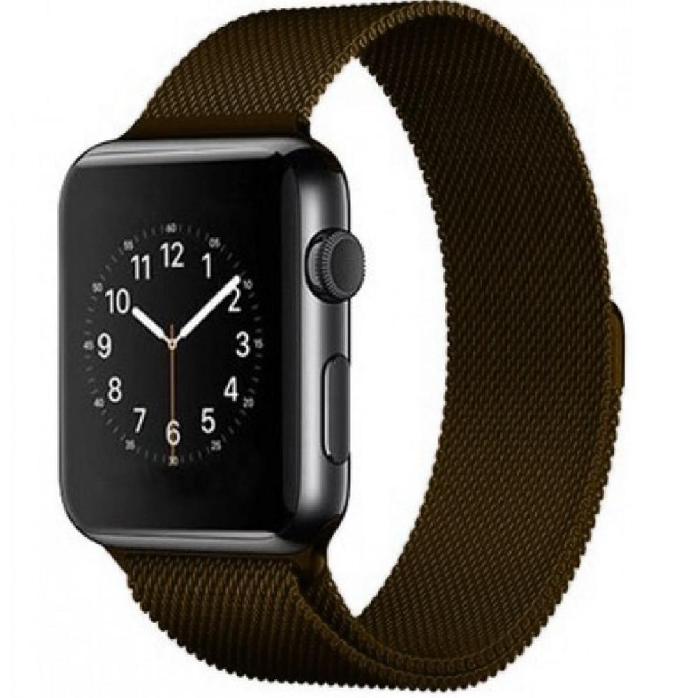 Ремешок Milanese Loop 42mm/44mm Brown для Apple Watch Series 1/2/3/4