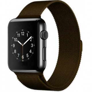 Ремешок Milanese Loop 38mm/40mm Brown для Apple Watch Series 1/2/3/4