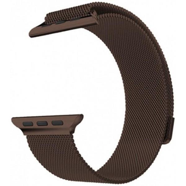 Ремешок Milanese Loop 42mm/44mm для Apple Watch (Brown)