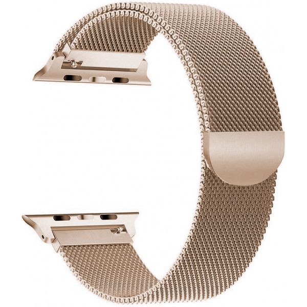 Ремешок Milanese Loop 42mm/44mm для Apple Watch (Gold)