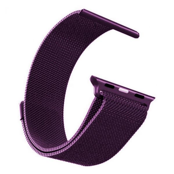 Ремешок Milanese Loop 42mm/44mm для Apple Watch (Lilac)