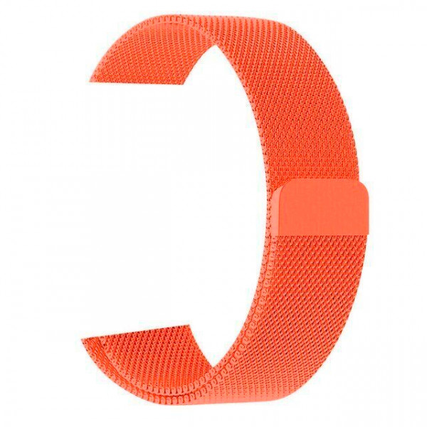 Ремешок Milanese Loop 38mm/40mm для Apple Watch (Orange)