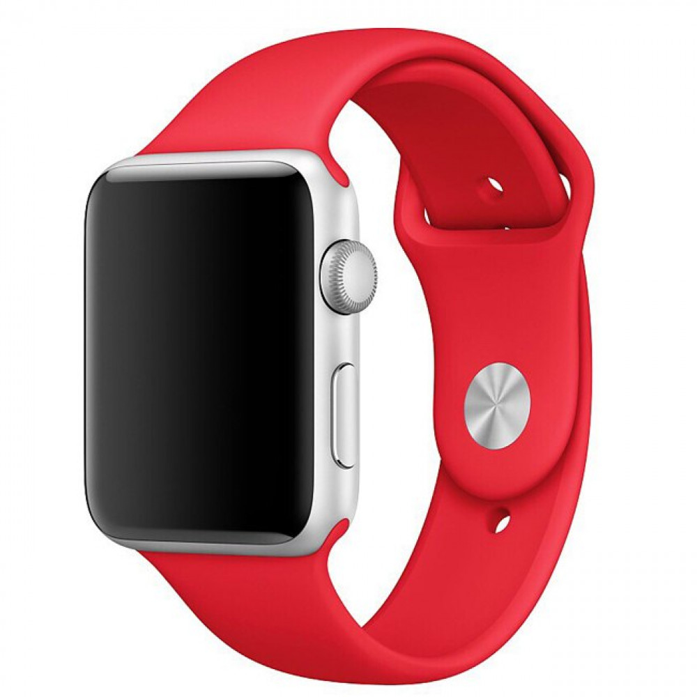 Ремешок Sport Band 44mm/42mm Product Red S/M&M/L для Apple Watch Series 1/2/3/4