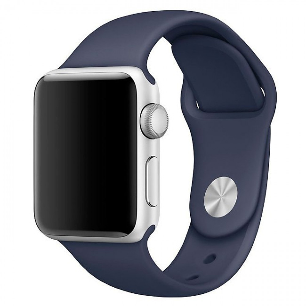 Ремешок Sport Band 44mm/42mm S/M для Apple Watch (Midnight Blue)