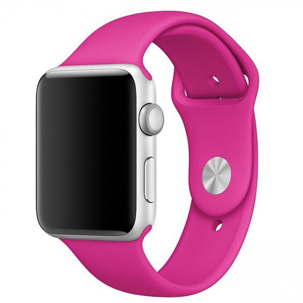 Ремешок Sport Band 44mm/42mm S/M для Apple Watch (Barbie Pink)