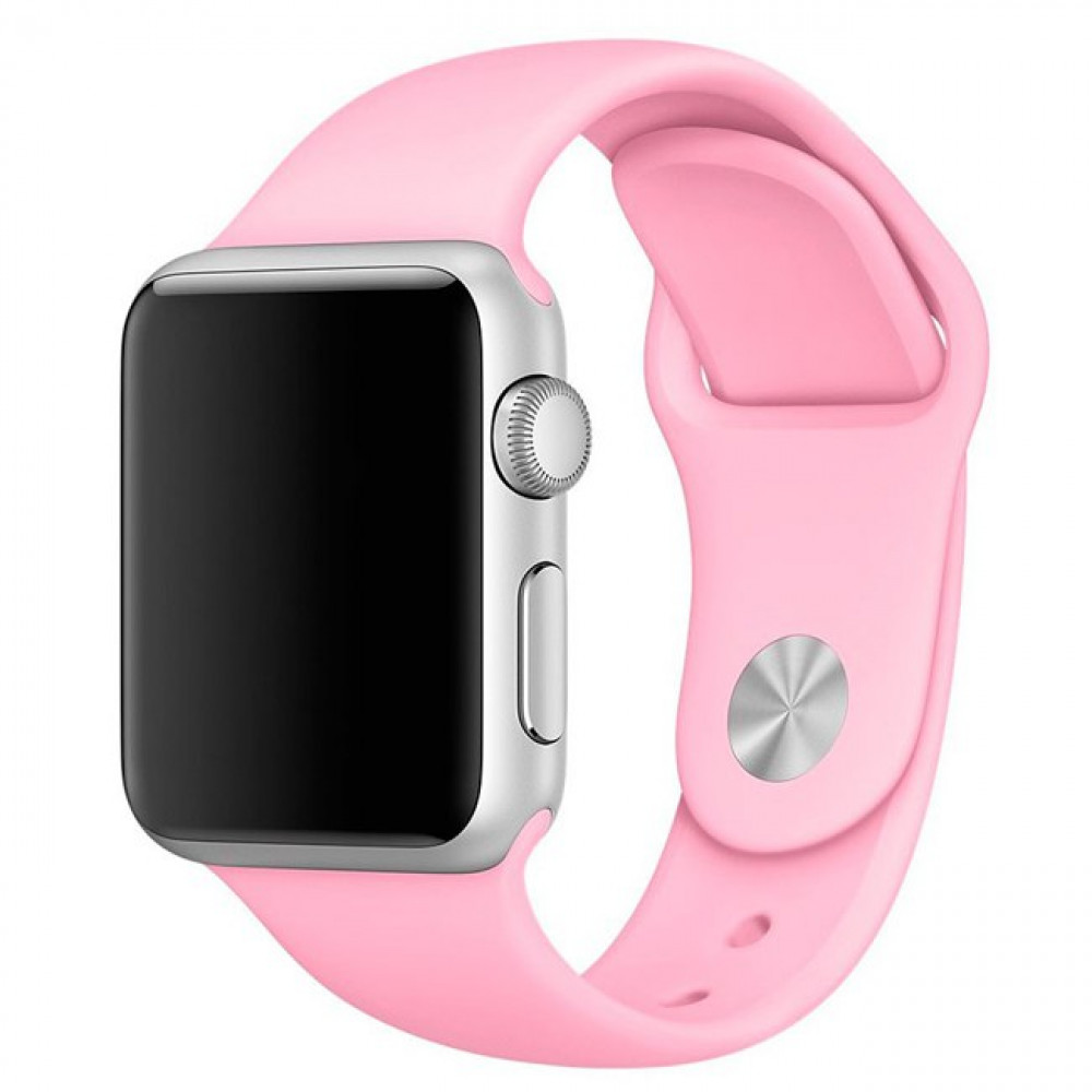 Ремешок Sport Band 44mm/42mm S/M для Apple Watch (Candy Pink)