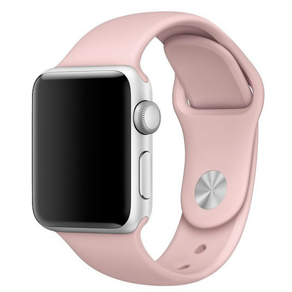 Ремешок Sport Band 44mm/42mm Pink Sand S/M&M/L для Apple Watch Series 1/2/3/4