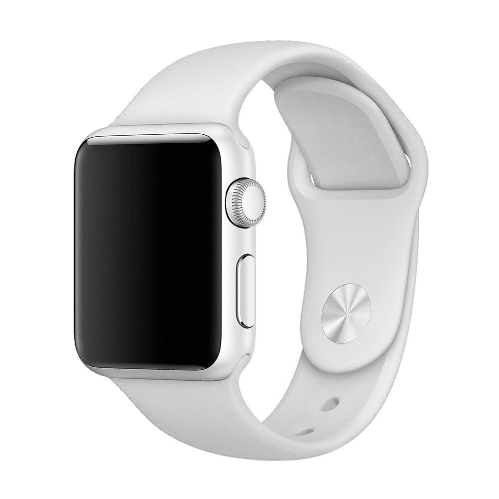 Ремешок Sport Band 44mm/42mm S/M для Apple Watch (White)