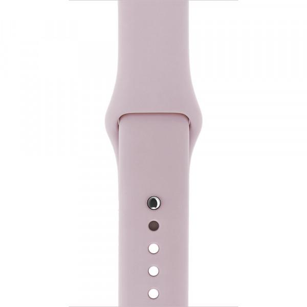 Ремешок Sport Band 44mm/42mm S/M для Apple Watch (Rose Gold)