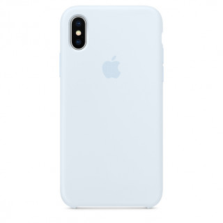 Чехол Silicone Case для iPhone X Sky Blue OEM