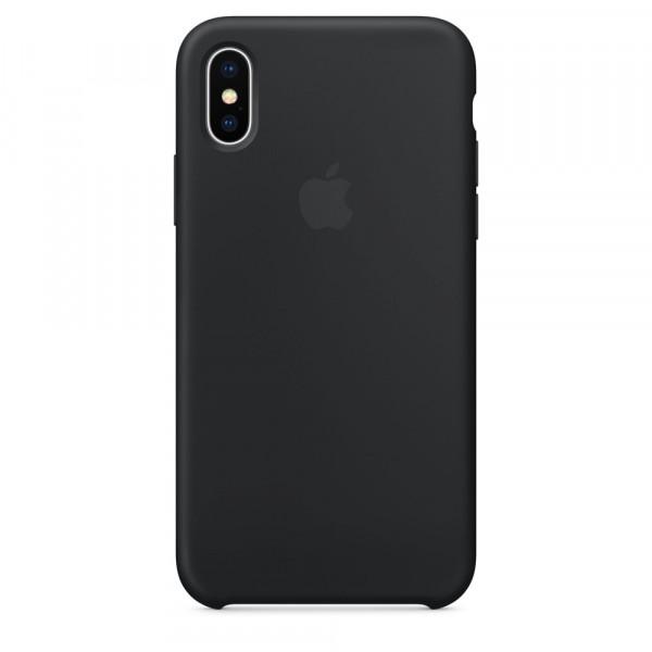 Чехол Silicone Case для iPhone X / XS (Black) OEM