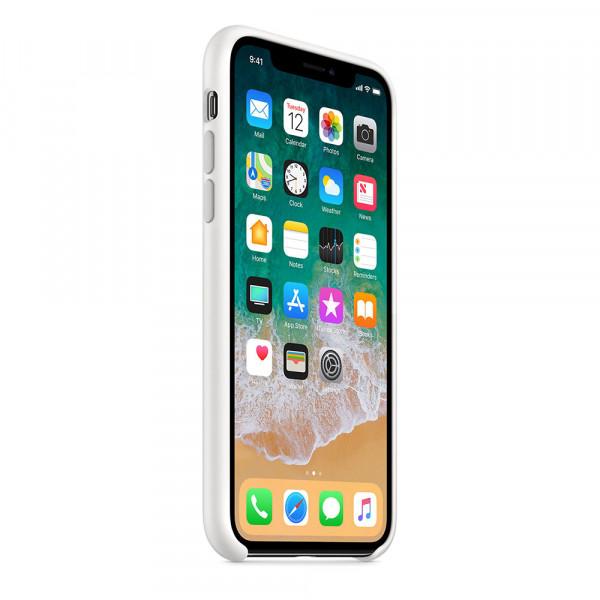Чехол Silicone Case для iPhone X / XS (White) OEM