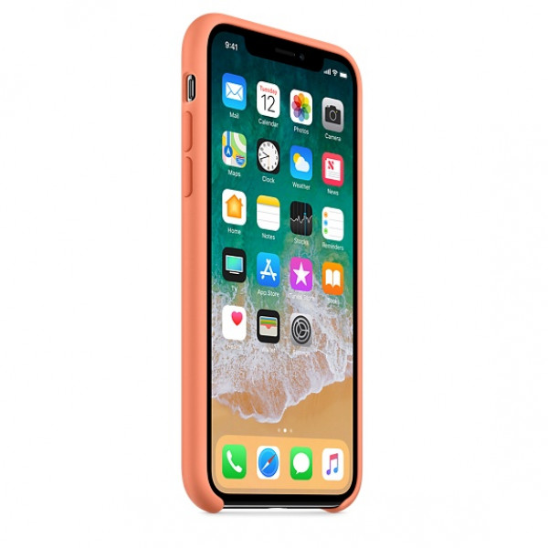 Чехол Silicone Case для iPhone X / XS (Peach) OEM