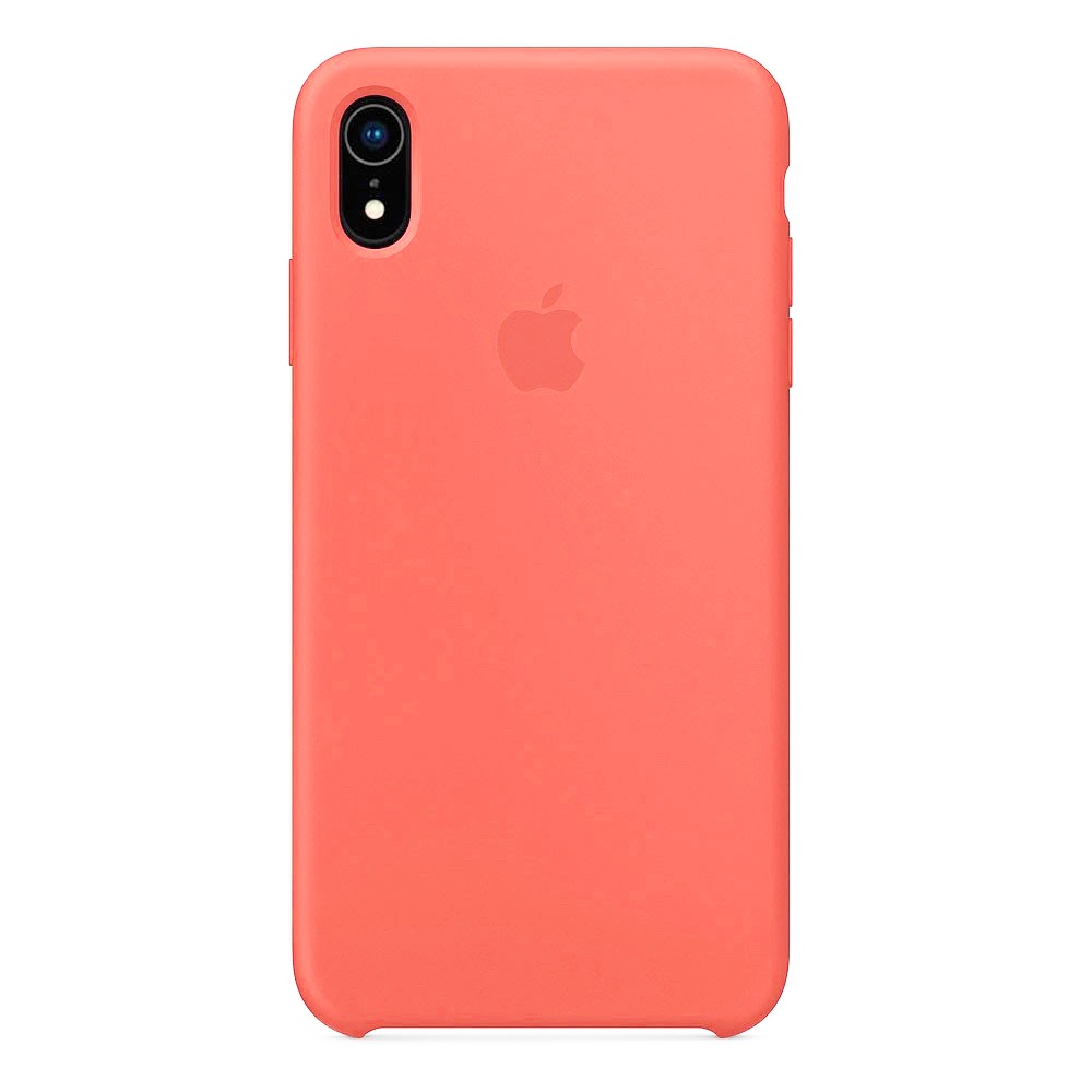 Чехол Silicone Case для iPhone XR Nectarine OEM