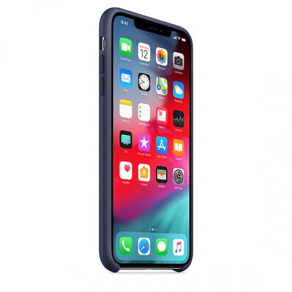 Чехол Silicone Case для iPhone XR Midnight Blue OEM