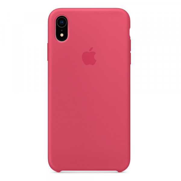 Чехол Silicone Case для iPhone XR Hibiscus OEM