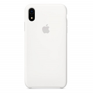 Чехол Silicone Case для iPhone XR White OEM