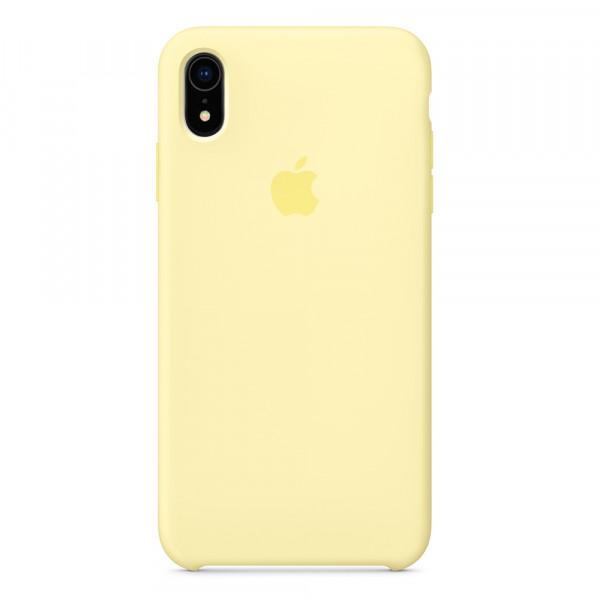 Чехол Silicone Case для iPhone XR Mellow Yellow OEM