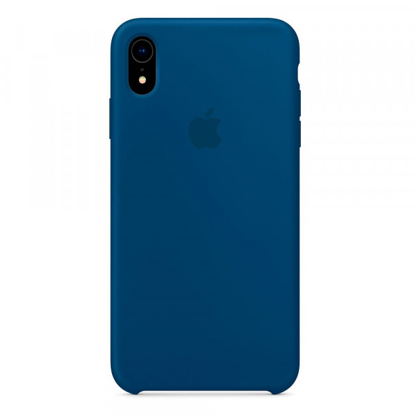 Чехол Silicone Case для iPhone XR Blue Horizon OEM