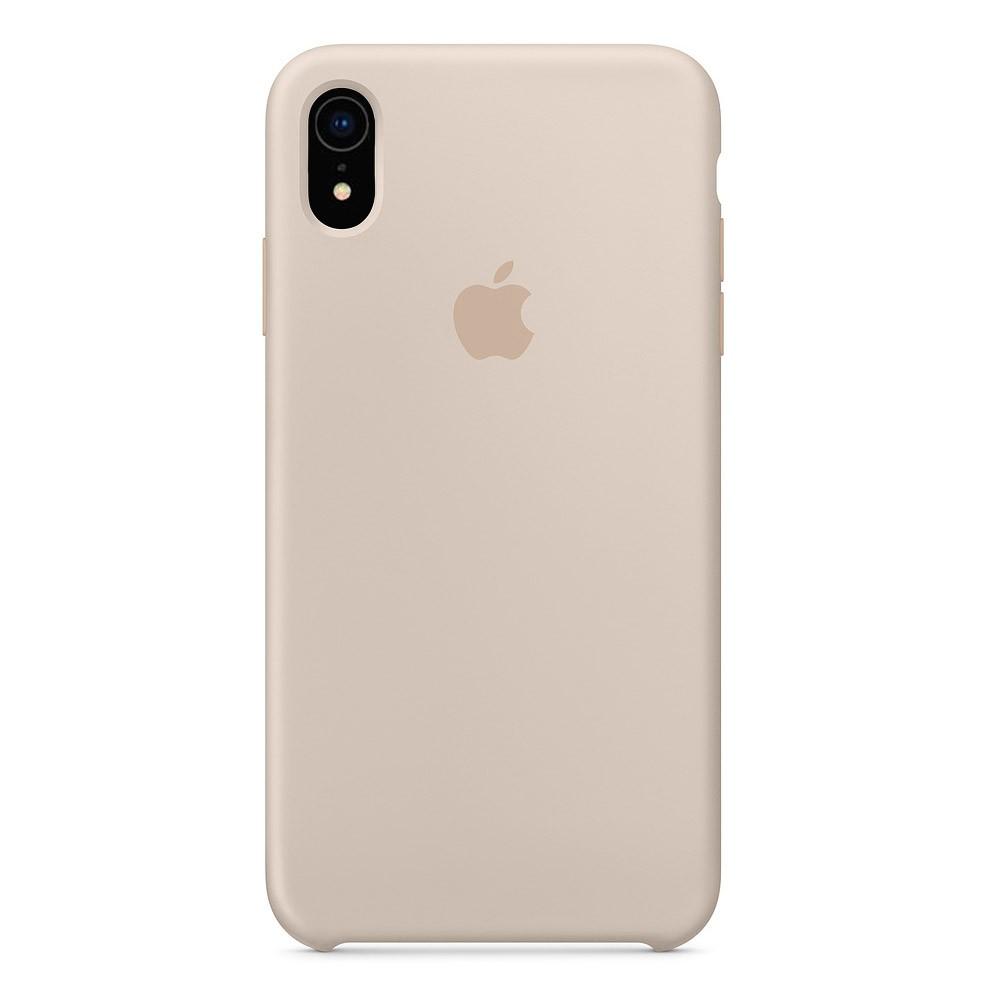 Чехол Silicone Case для iPhone XR Stone OEM