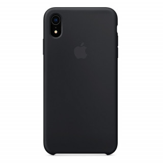 Чехол Silicone Case для iPhone XR Black OEM
