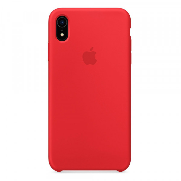 Чехол Silicone Case для iPhone XR PRODUCT(RED) OEM