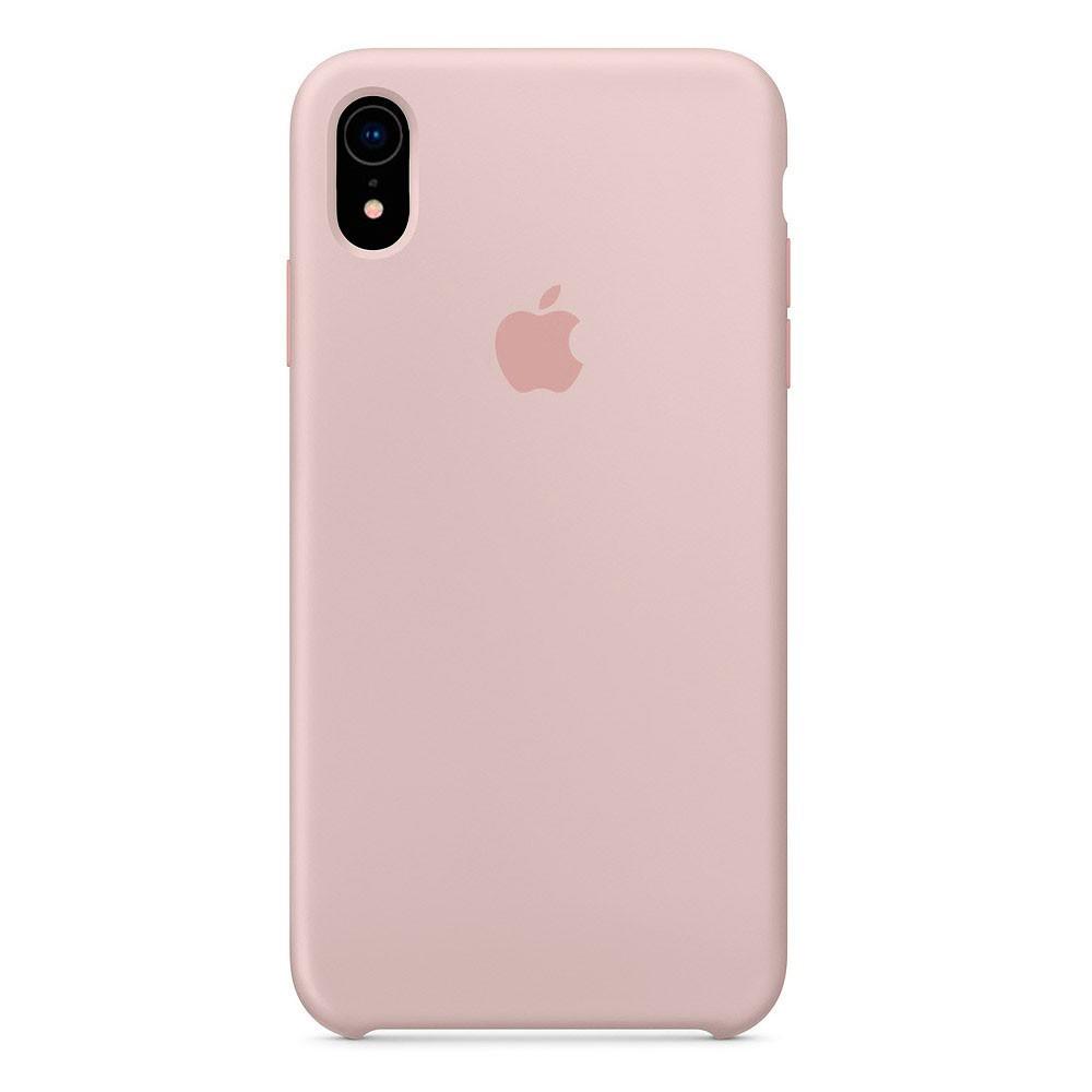 Чехол Silicone Case для iPhone XR Pink Sand OEM