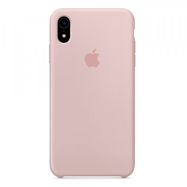 Чехол Silicone Case для iPhone XR Pink Sand OEM