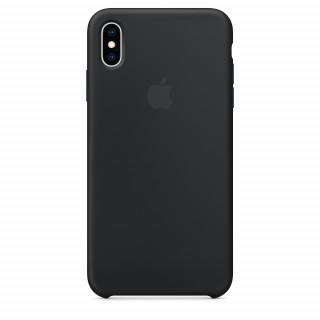 Чехол Silicone Case для iPhone XS Max Black OEM