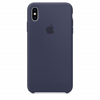 Чехол Silicone Case для iPhone XS Max Midnight Blue OEM