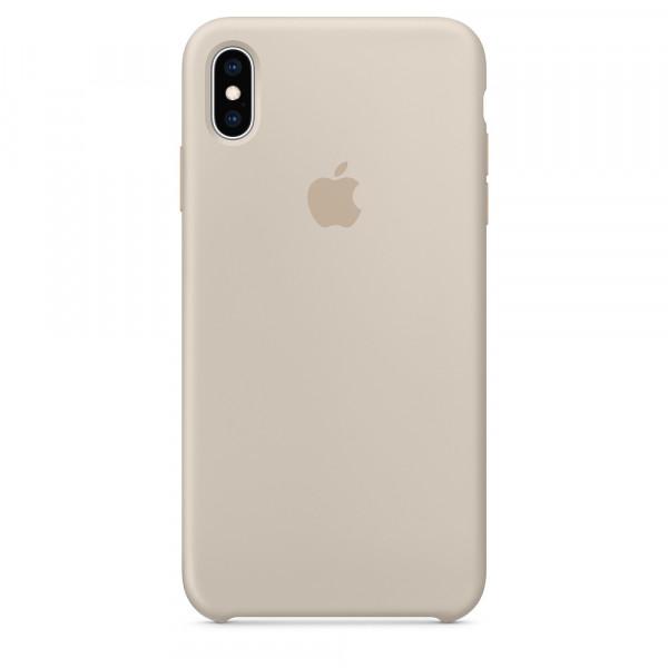 Чехол Silicone Case для iPhone XS Max (Stone) OEM