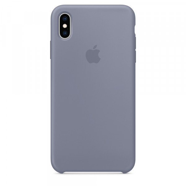 Чехол Silicone Case для iPhone XS Max (Lavender Gray) OEM